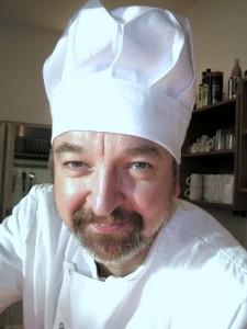 "Chefkoch Andreas Mondroch vom Café ""mac-mo"""