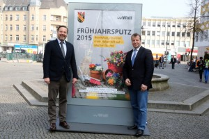Bürgermeister Balzer Wall AG Alt-Tegel Frühjahrsputz
