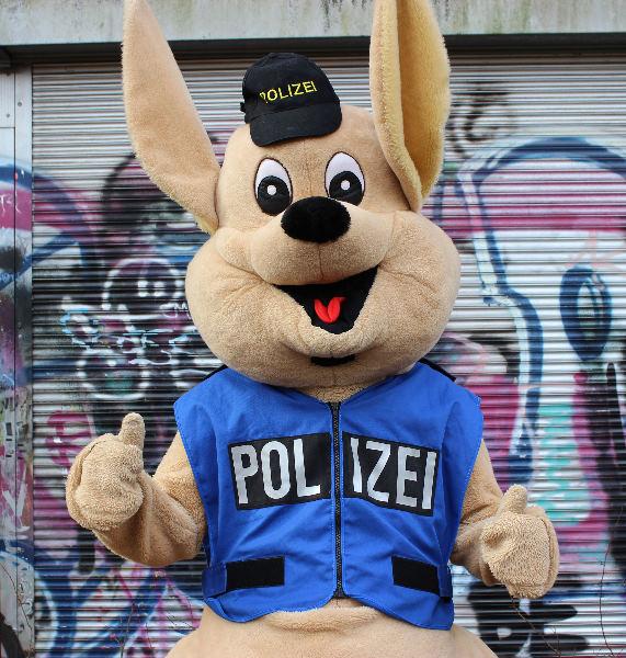 Huggy klein Polizei