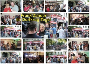 124 05 Dorfkrug Tegel Frank Zander Collage