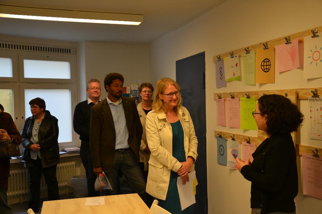 Bezirkstag Lisa Paus Grüne infopoint gemeinschaftsunterbringung
