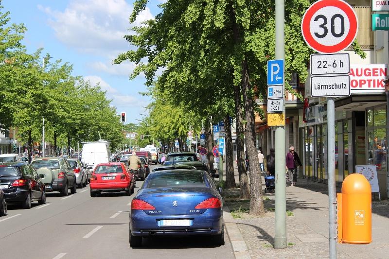 Parkraum cdu schmidt Verkehr-Tegel-City-s