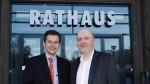 Herr Brockhauswn (l) und Herr Stroedter