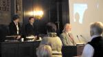 Gedenkminute an Stadtrat Herrn Höhne