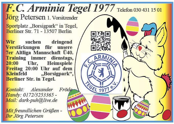 OS GW 132 wp 15 fc Arminia Tegel
