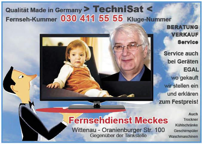 133 wp 14 Fernsehdienst Meckes