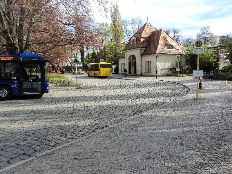 Bahnhof Hermsdorf aussen