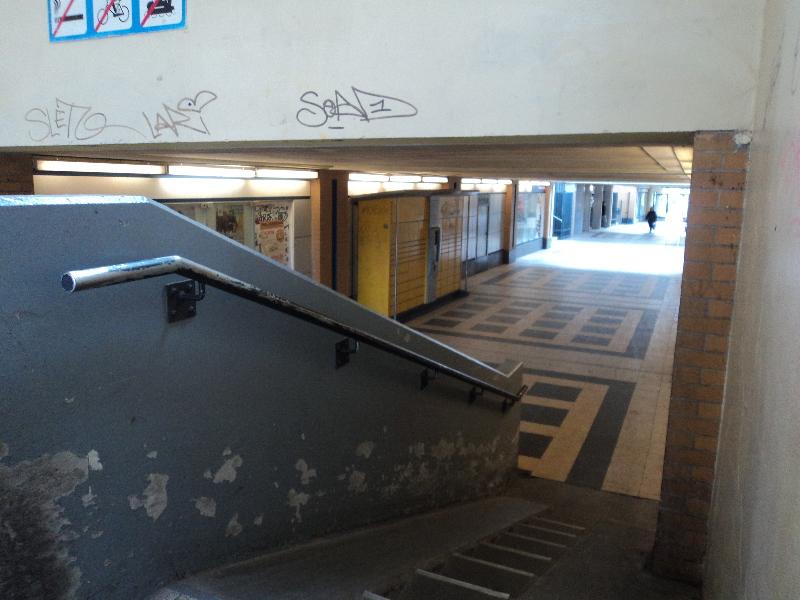 Bahnhof Hermsdorf innen