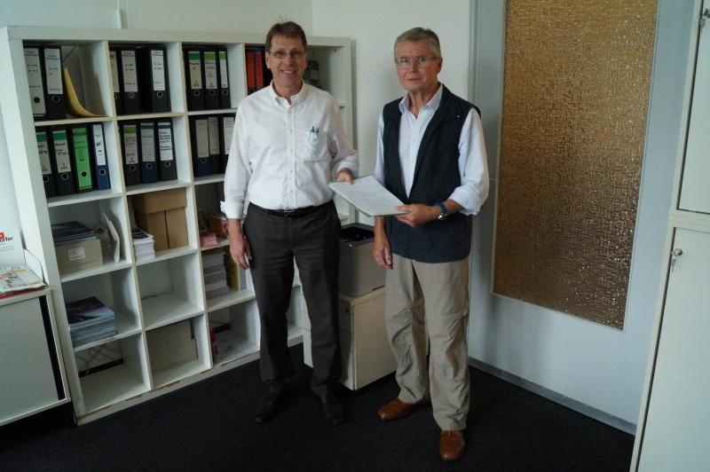Bürgerberater Dieter Heidbreder Lambert Beratungsbilanz (Bild BA )