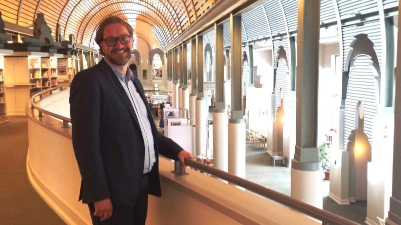 Bibliotheksleiter Herr Dr Wissen Humboldt Bibliothek BA Reinickendorf
