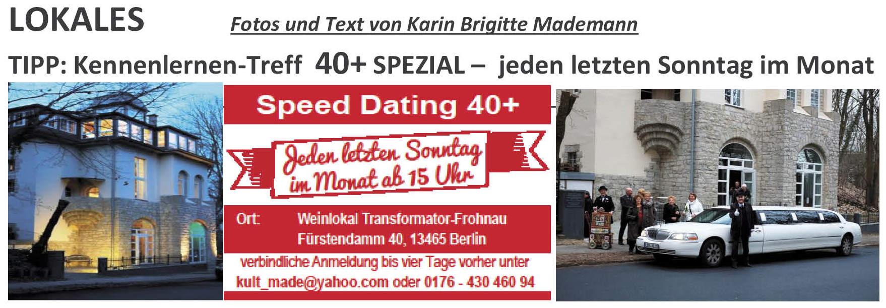 speed dating 13