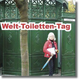 """Mit Anna HAASE auf """"TOUR DE TOiLET"""" @ Treffpunkt U-Bahnstation"""